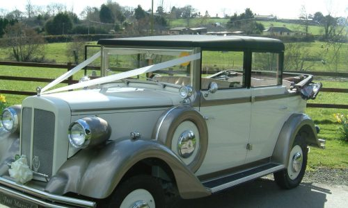 Regent wedding car 060